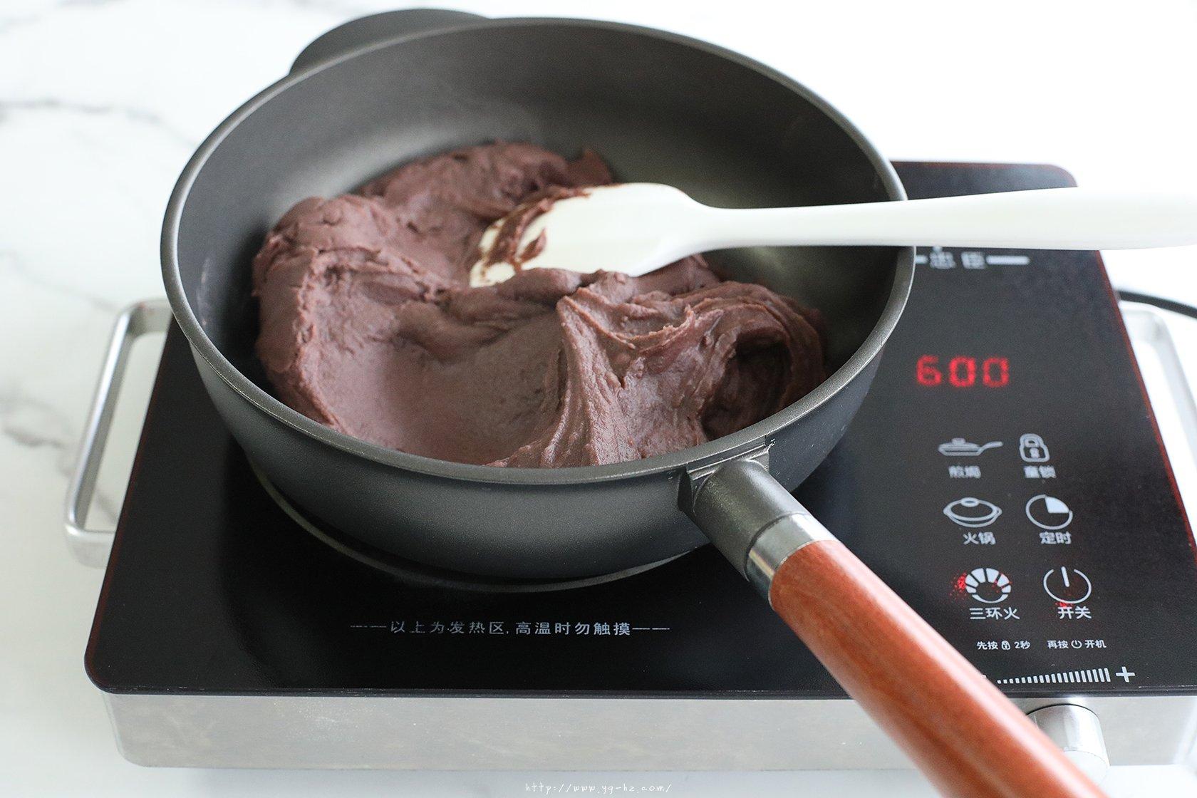 自制低油玫瑰豆沙【适合包子、青团、面包等】的做法 步骤6