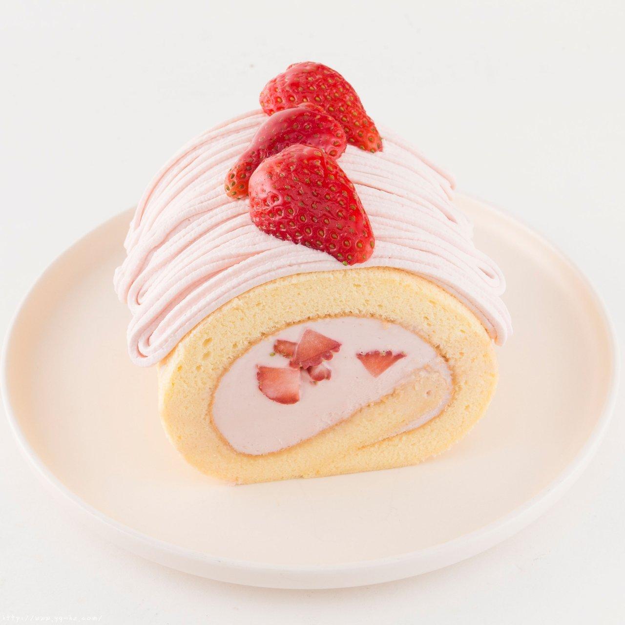 松软不开裂的日式草莓蛋糕卷的做法 步骤29