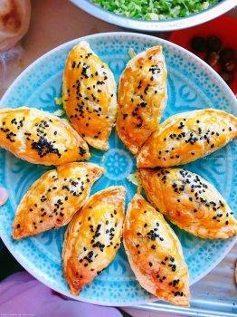 蛋挞皮版栗子紫薯酥的做法步骤图