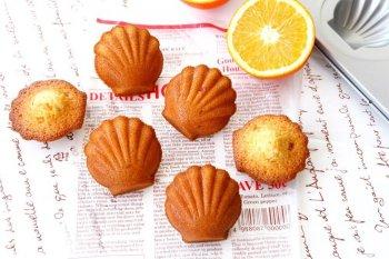 椰子橙香玛德琳的做法步骤图,怎么做好吃