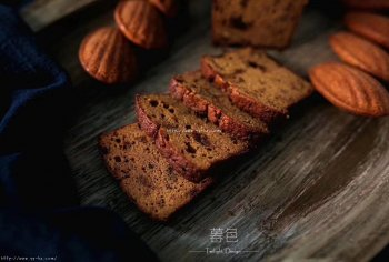 枣泥核桃磅蛋糕(无泡打
