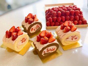 松软不开裂的日式草莓蛋糕卷的做法步骤图