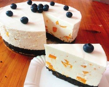 酸奶芒果慕斯蛋糕(8寸