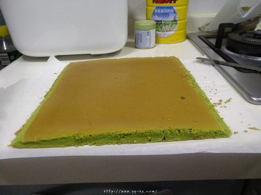 抹茶蛋糕卷(超详细)的做法 步骤28