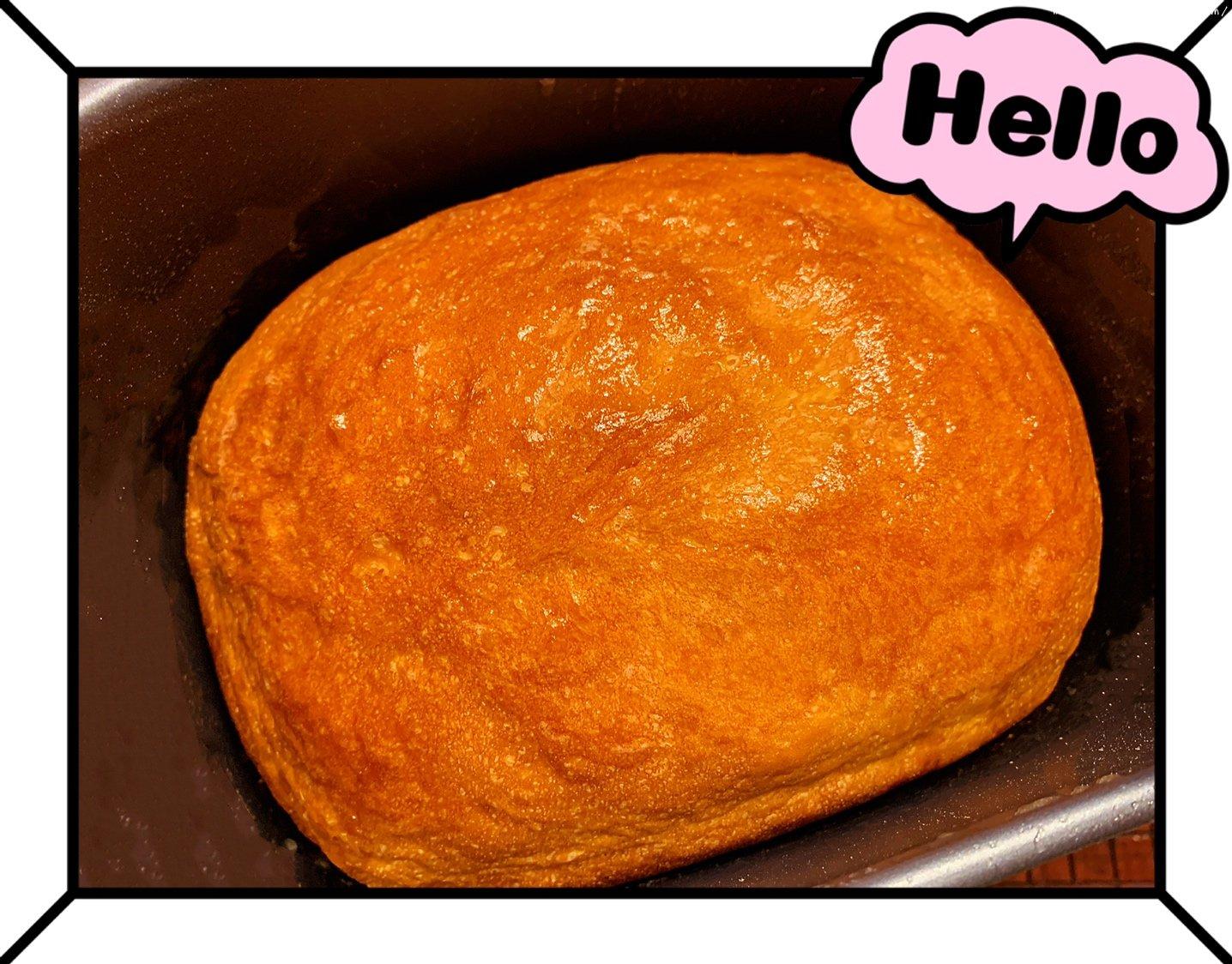 南瓜吐司面包(面包机版)的做法 步骤5