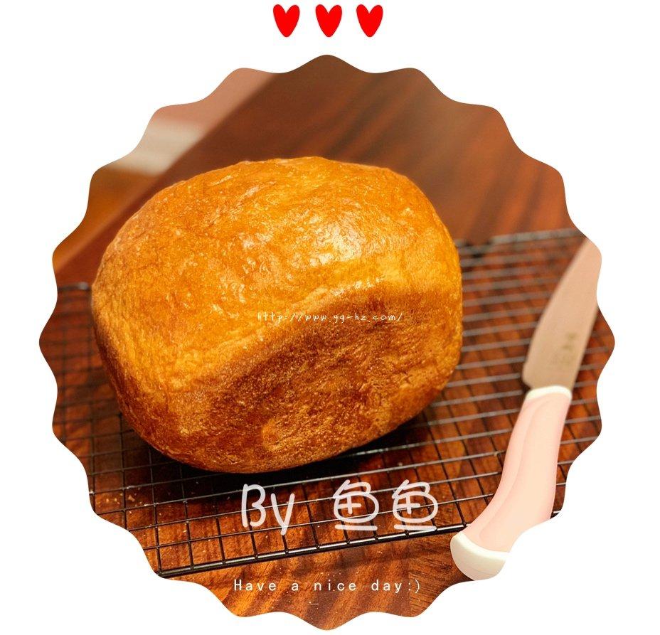 南瓜吐司面包(面包机版)的做法 步骤6