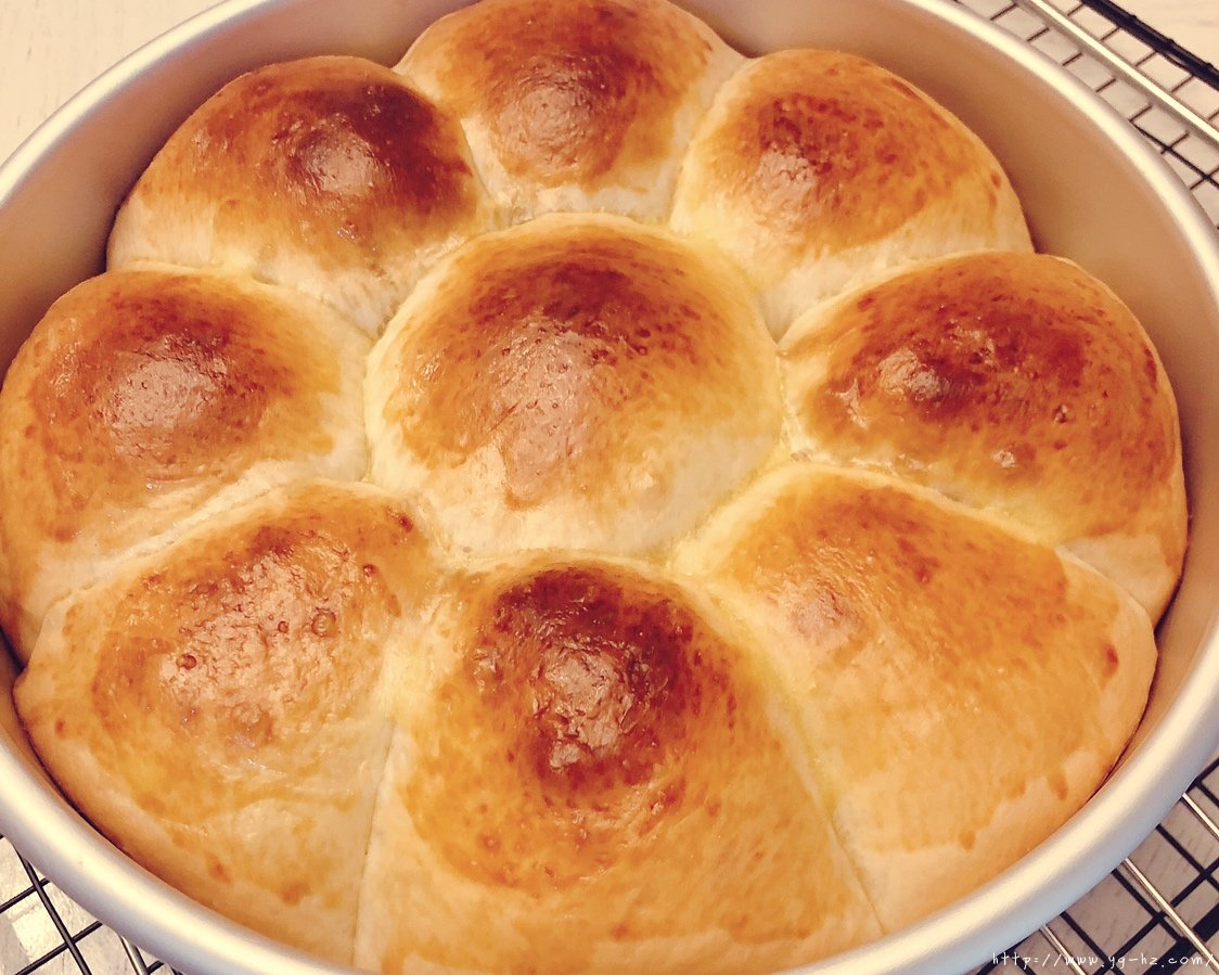 牛奶小餐包(手工面包)的做法