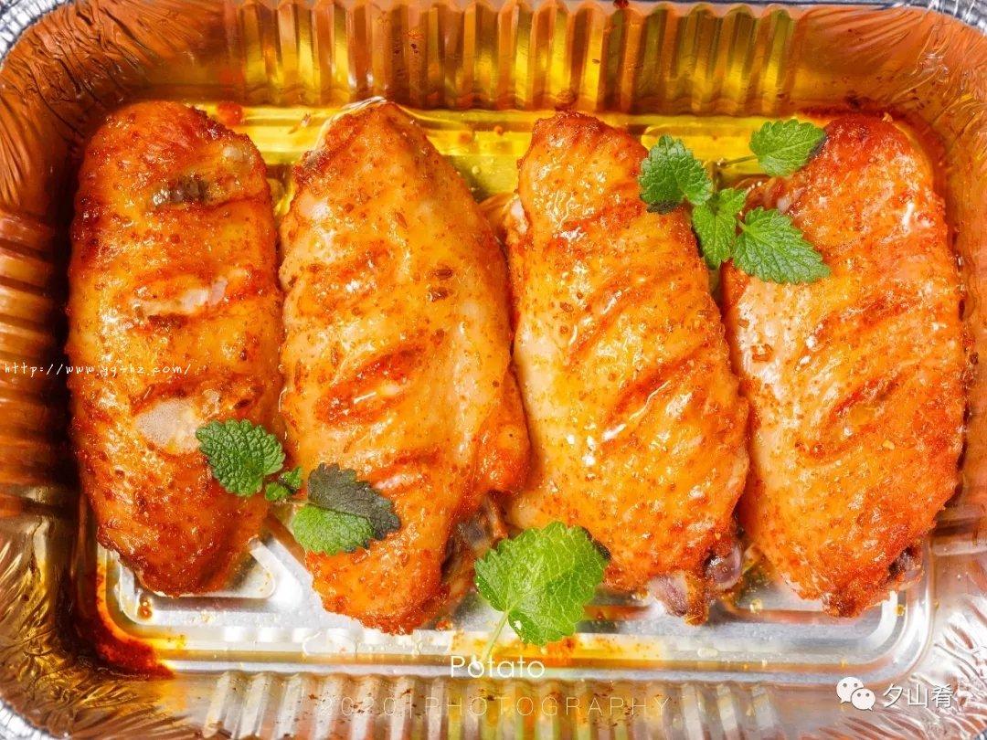 懒人版烤鸡翅-表皮酥脆,肉质嫩而多汁,超香的做法 步骤7
