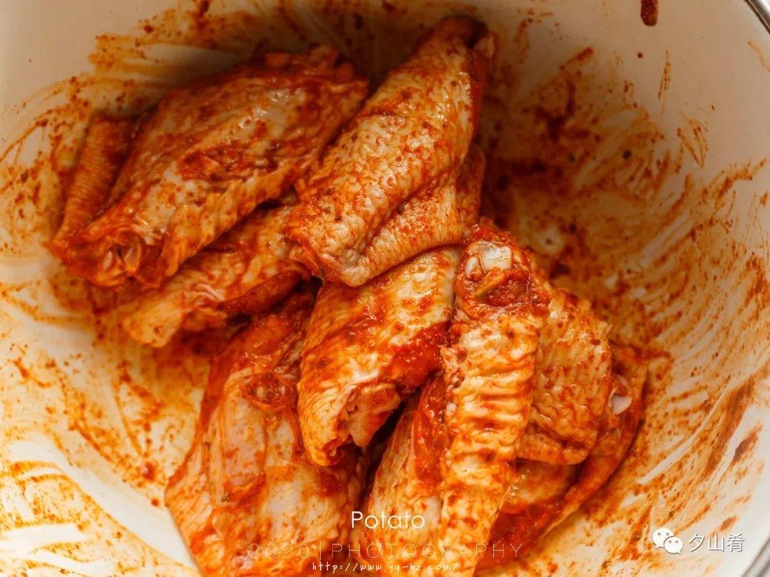 懒人版烤鸡翅-表皮酥脆,肉质嫩而多汁,超香的做法 步骤5