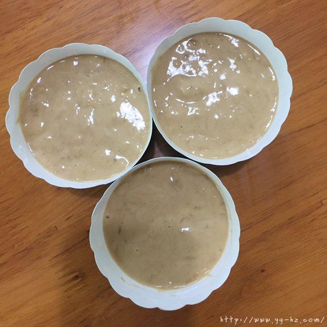 红糖香蕉马芬和白糖香蕉马芬的做法 步骤15
