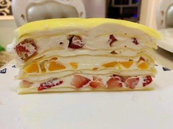 千层蛋糕家庭版的做法步骤图,怎么做好吃