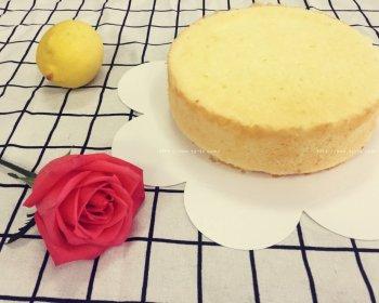 一只柠檬戚风蛋糕(8寸)的做法步骤图