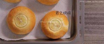超清新的柠檬酸奶面包,