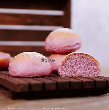 软软的紫薯小餐包,谁不喜欢?