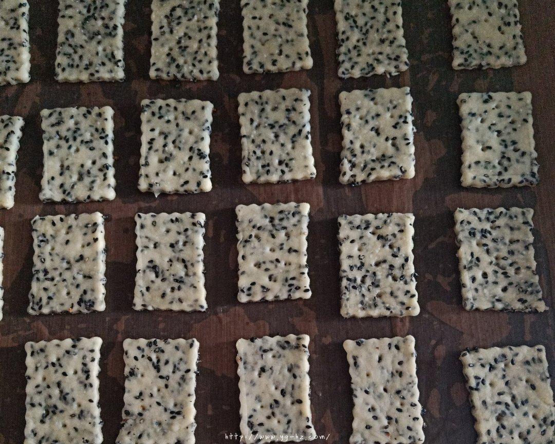 芝麻苏打饼干(无糖)的做法 步骤4