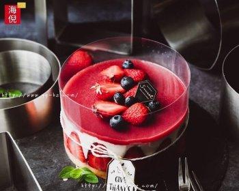 轻松制作网红草莓慕斯蛋