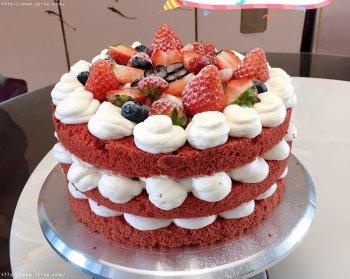 红丝绒蛋糕的做法步骤图,怎么做好吃