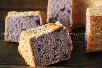 紫薯乳酪戚风蛋糕的做法步骤图,怎么做好吃