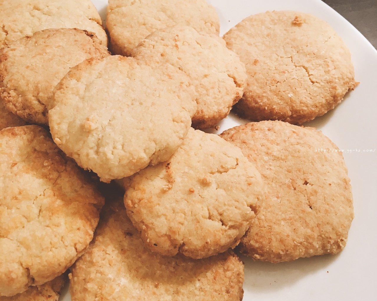 超酥的椰子油版椰蓉曲奇饼干的做法