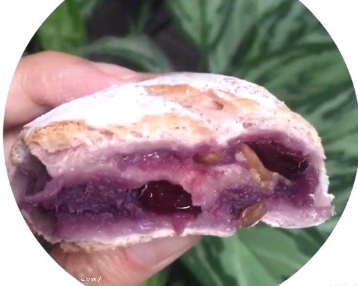 紫薯麻薯软欧包的做法 步骤22