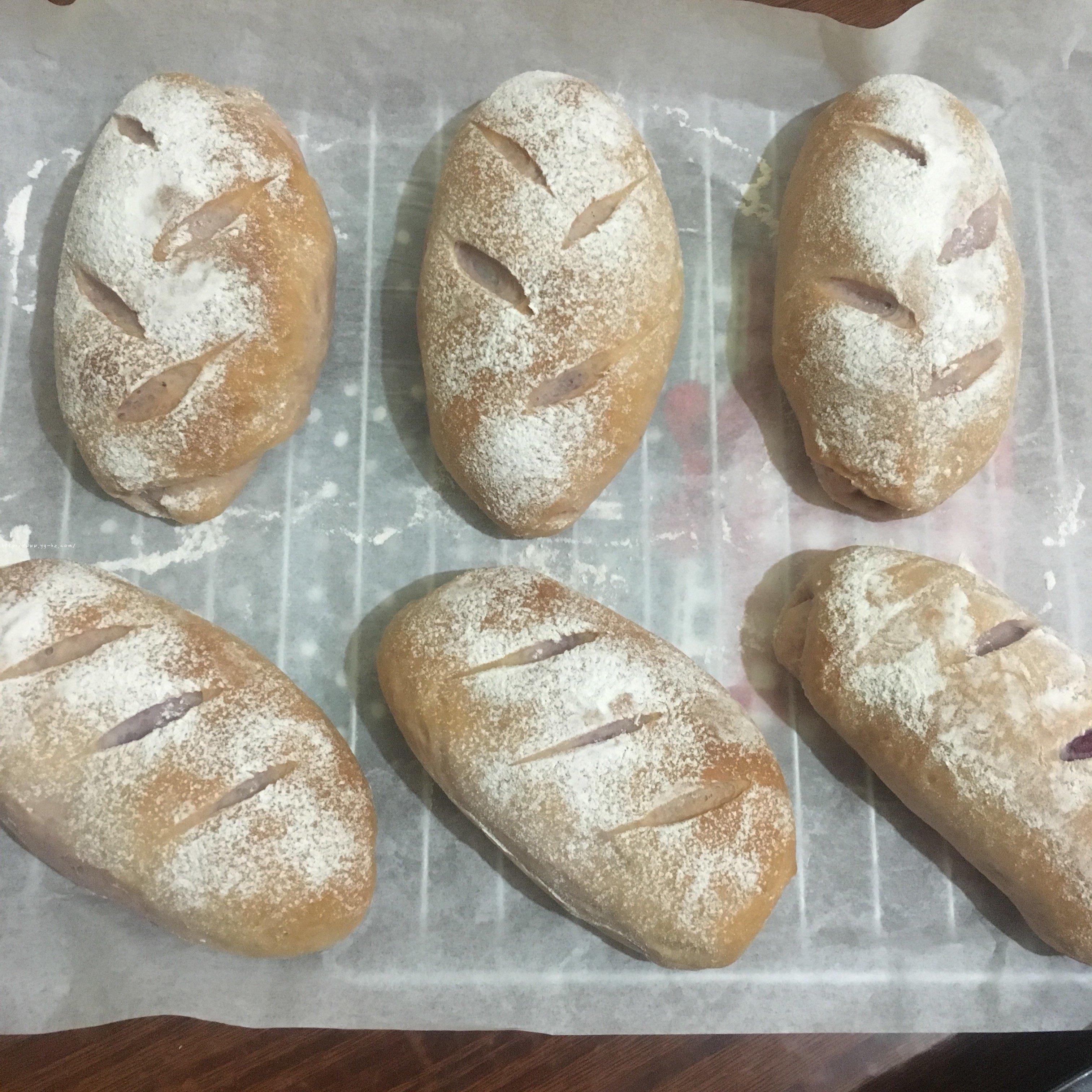 紫薯麻薯软欧包的做法 步骤21
