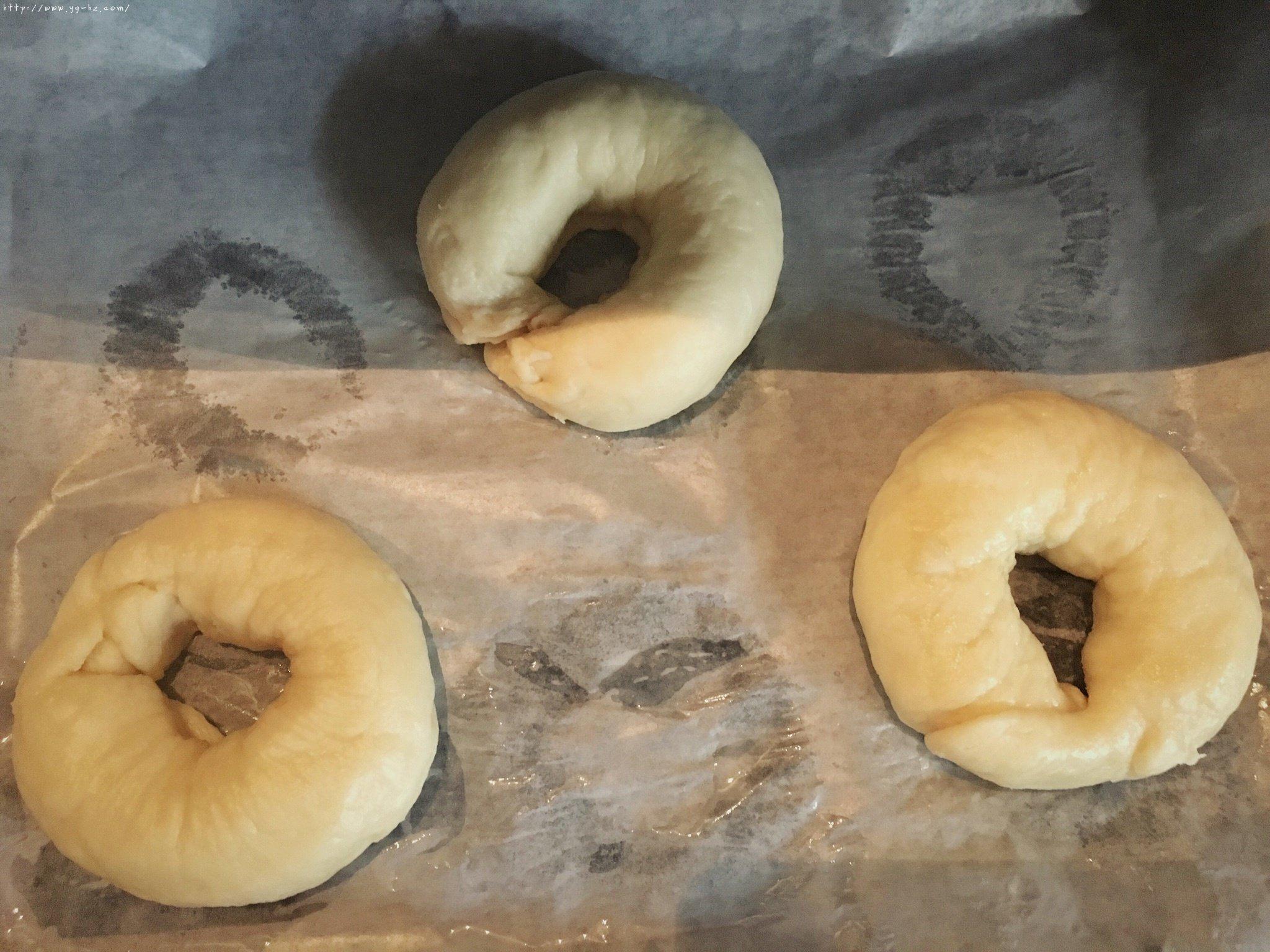 原味bagel百吉饼(贝果面包)的做法 步骤10