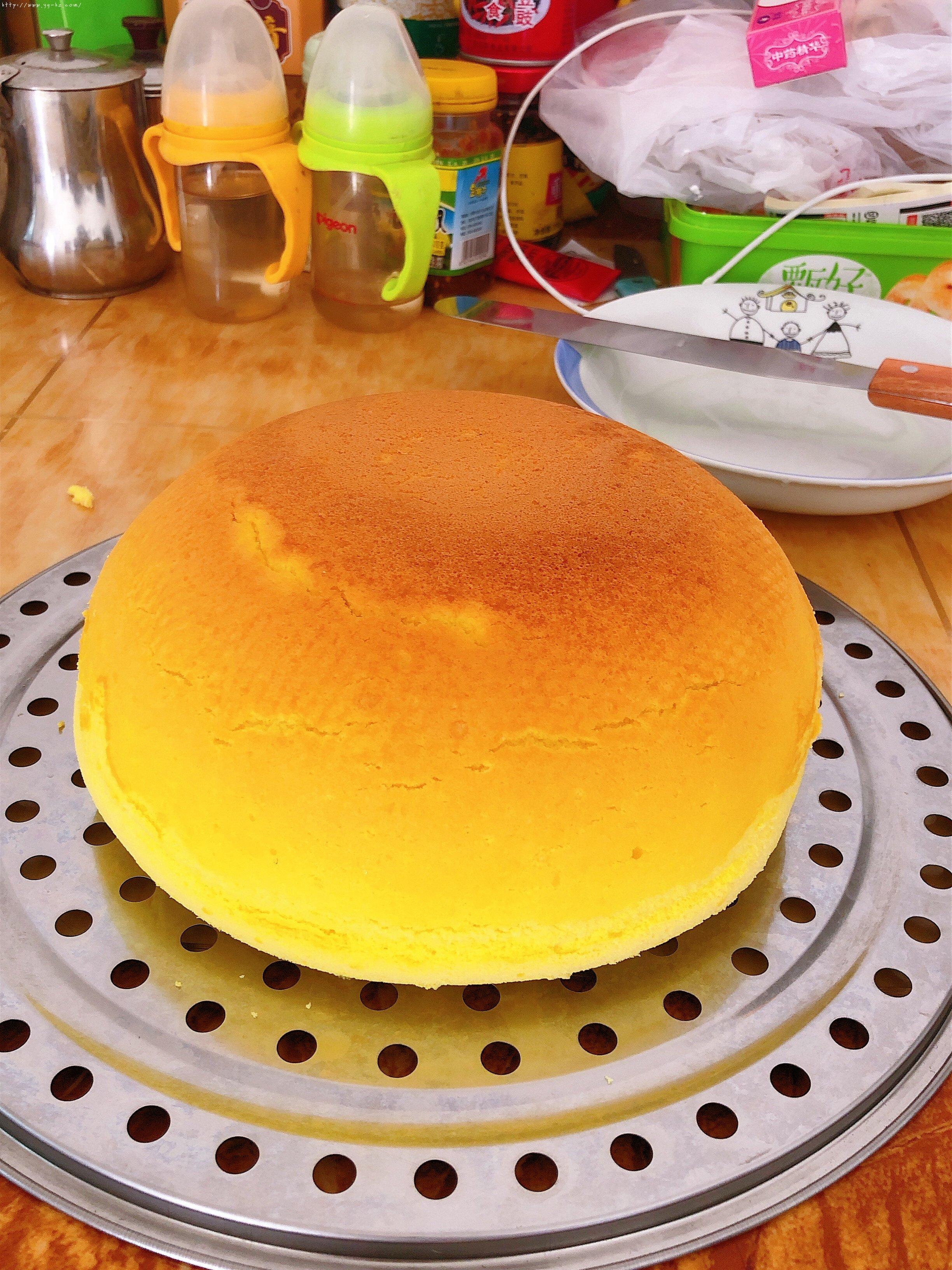 电饭锅版蛋糕(新手0失败率)的做法 步骤9