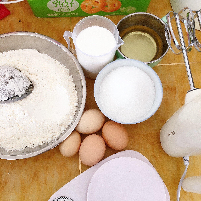 电饭锅版蛋糕(新手0失败率)的做法 步骤1