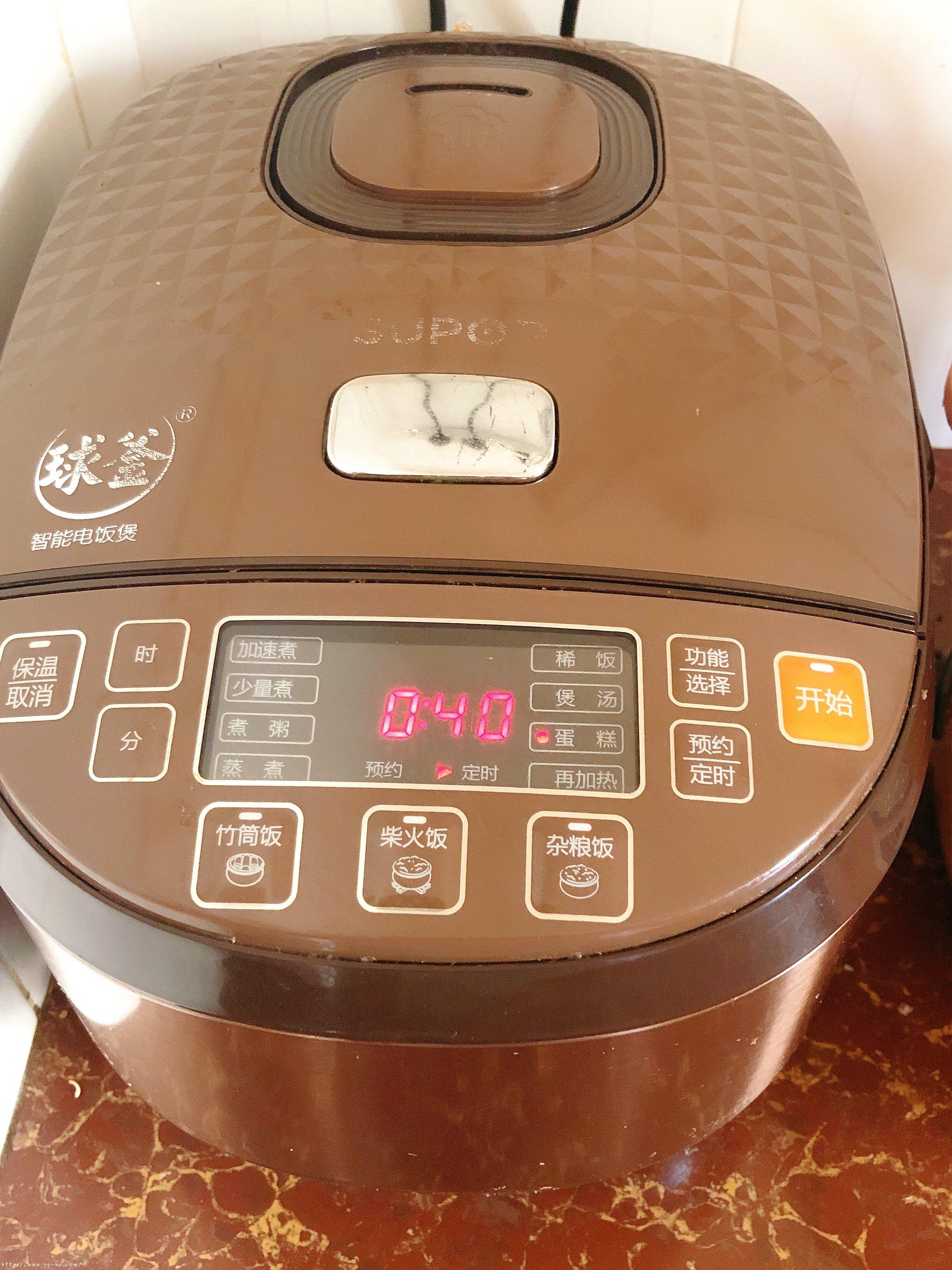 电饭锅版蛋糕(新手0失败率)的做法 步骤8