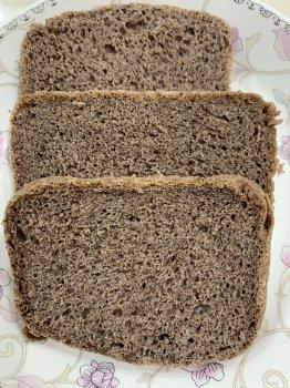 100%黑全麦吐司(面包机