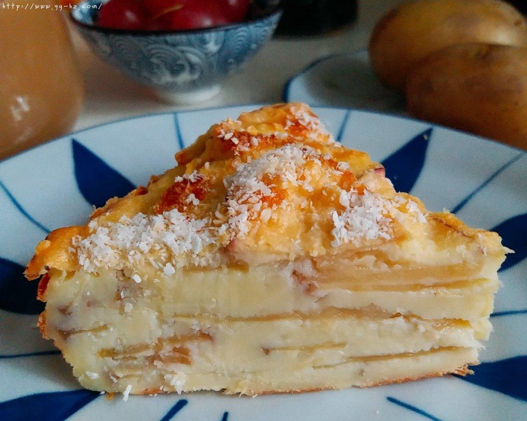 超简单快手的苹果千层蛋糕的做法 步骤14