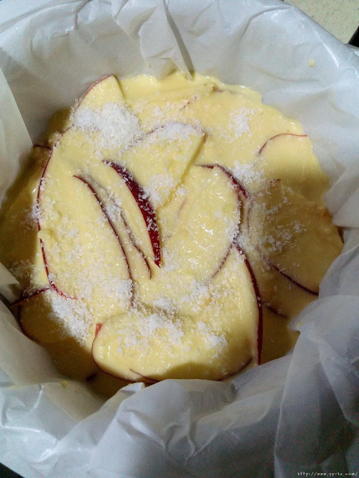 超简单快手的苹果千层蛋糕的做法 步骤8