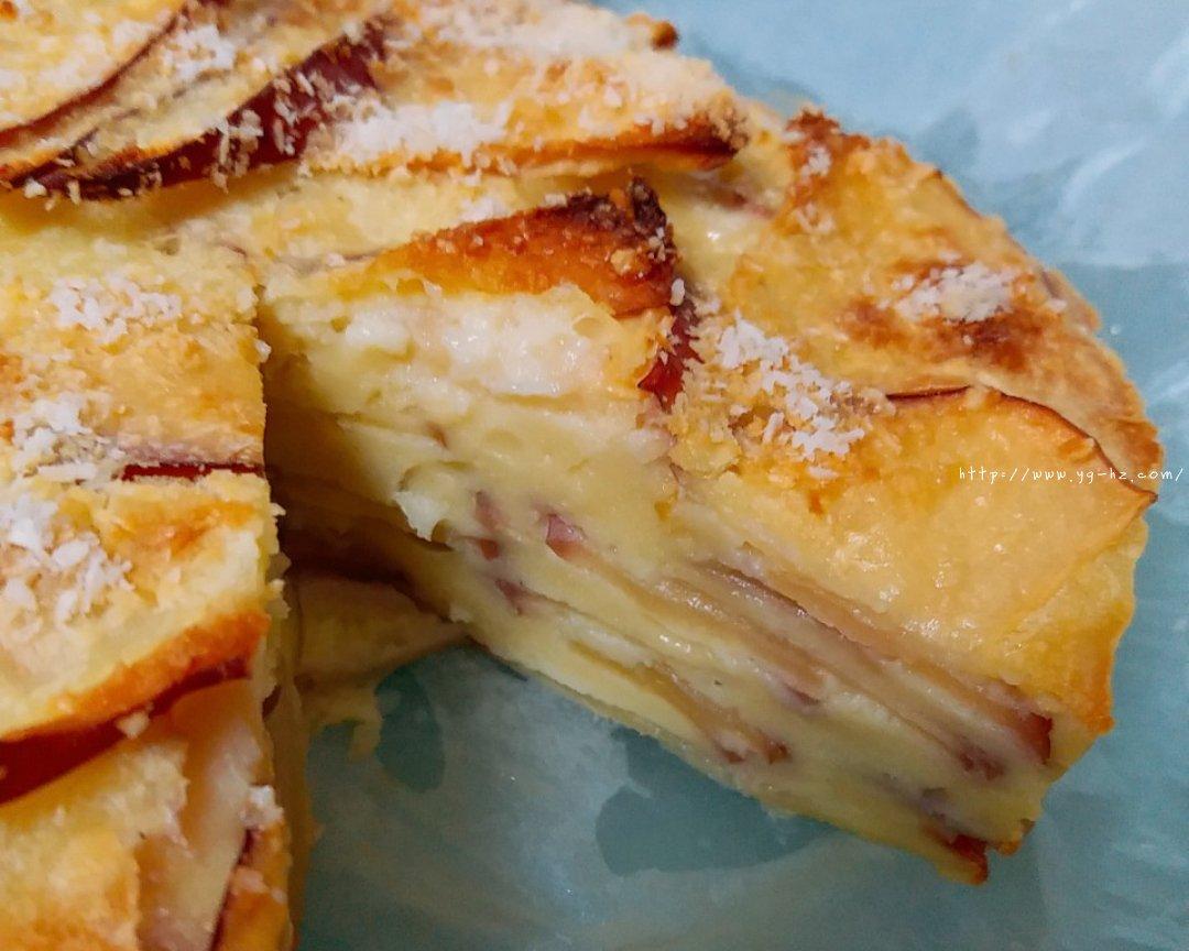 超简单快手的苹果千层蛋糕的做法 步骤13