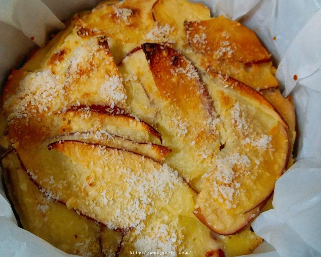 超简单快手的苹果千层蛋糕的做法 步骤9