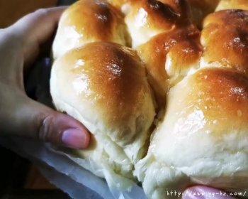柔软蜂蜜小餐包(水合法