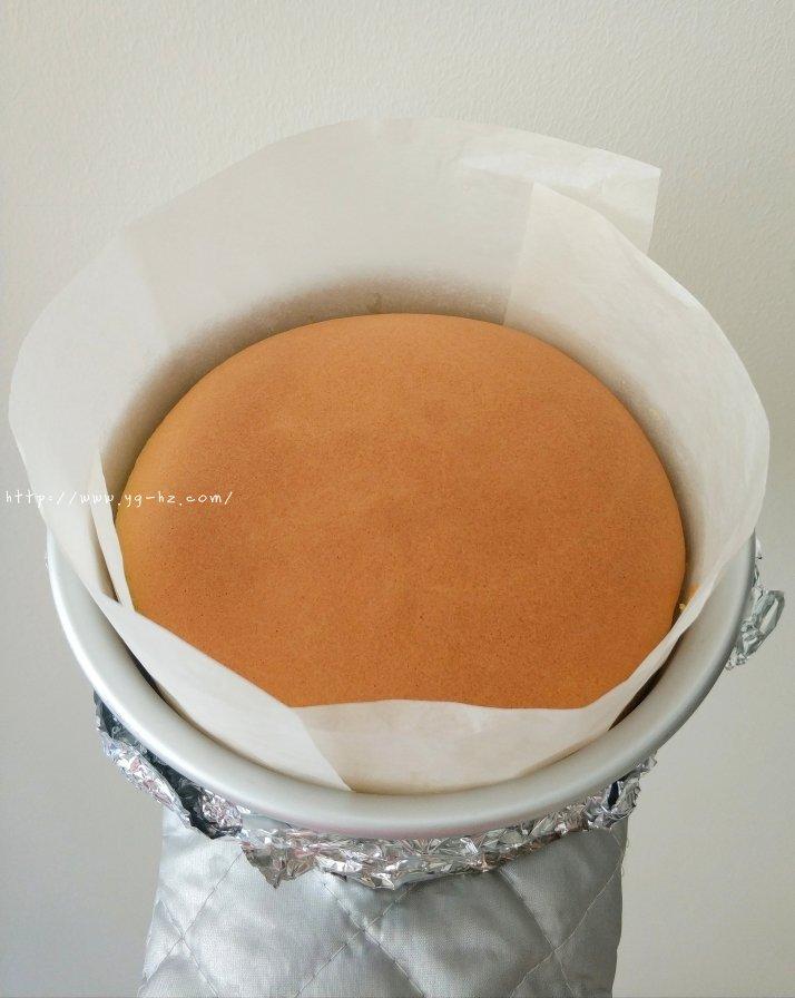 细腻柔软的古早蛋糕(六寸)的做法 步骤16