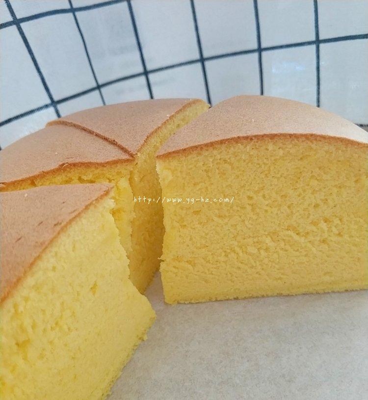 细腻柔软的古早蛋糕(六寸)的做法 步骤17