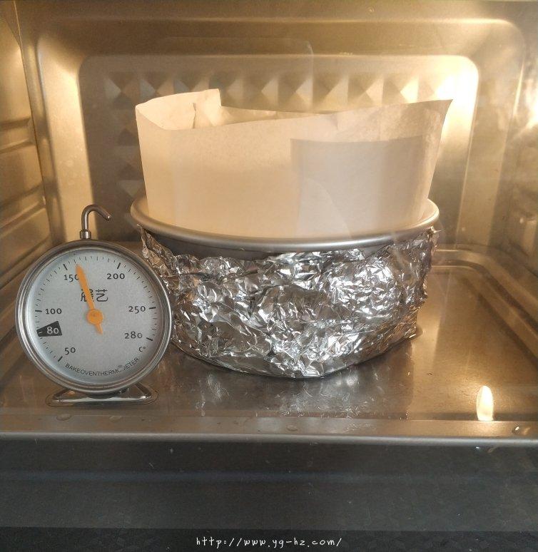 细腻柔软的古早蛋糕(六寸)的做法 步骤15