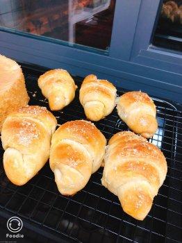 牛角小面包的做法步骤图,牛角小面包怎么做好吃