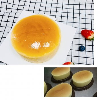 零失败,容易上手、完美轻芝士乳酪蛋糕、六寸八寸的做法步骤图