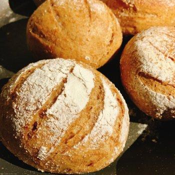无糖无油100%全麦面包的做法步骤图
