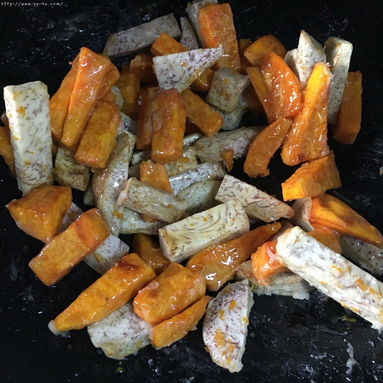 反砂芋头/番薯--橙香清新味的做法 步骤11