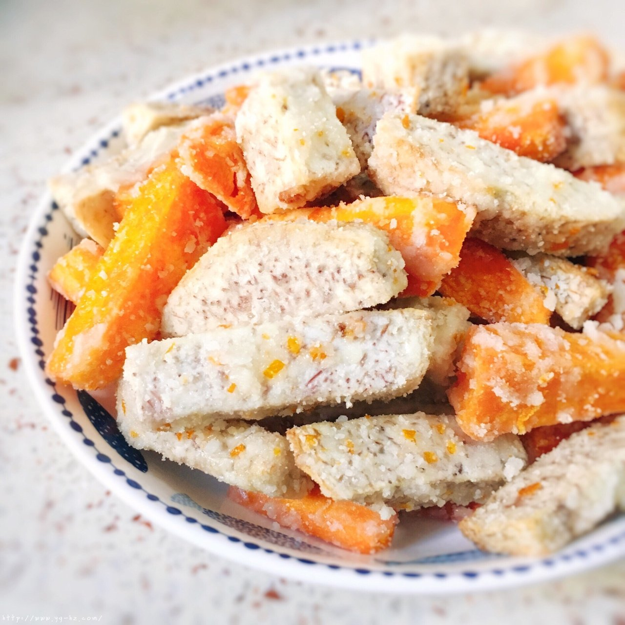 反砂芋头/番薯--橙香清新味的做法