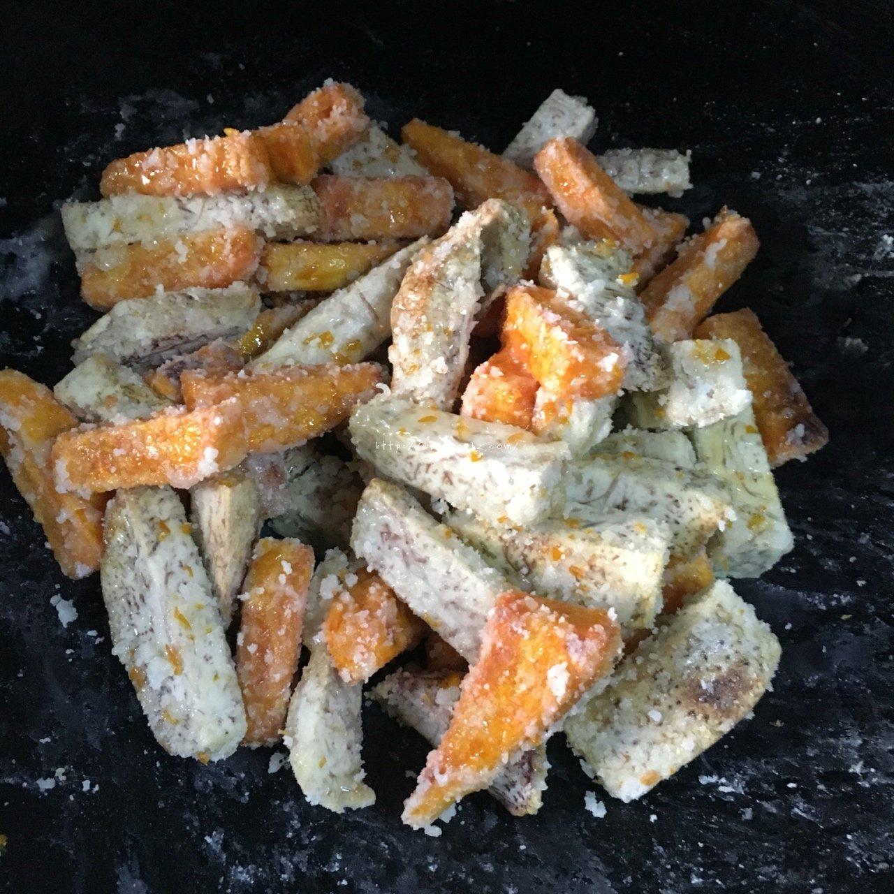 反砂芋头/番薯--橙香清新味的做法 步骤12
