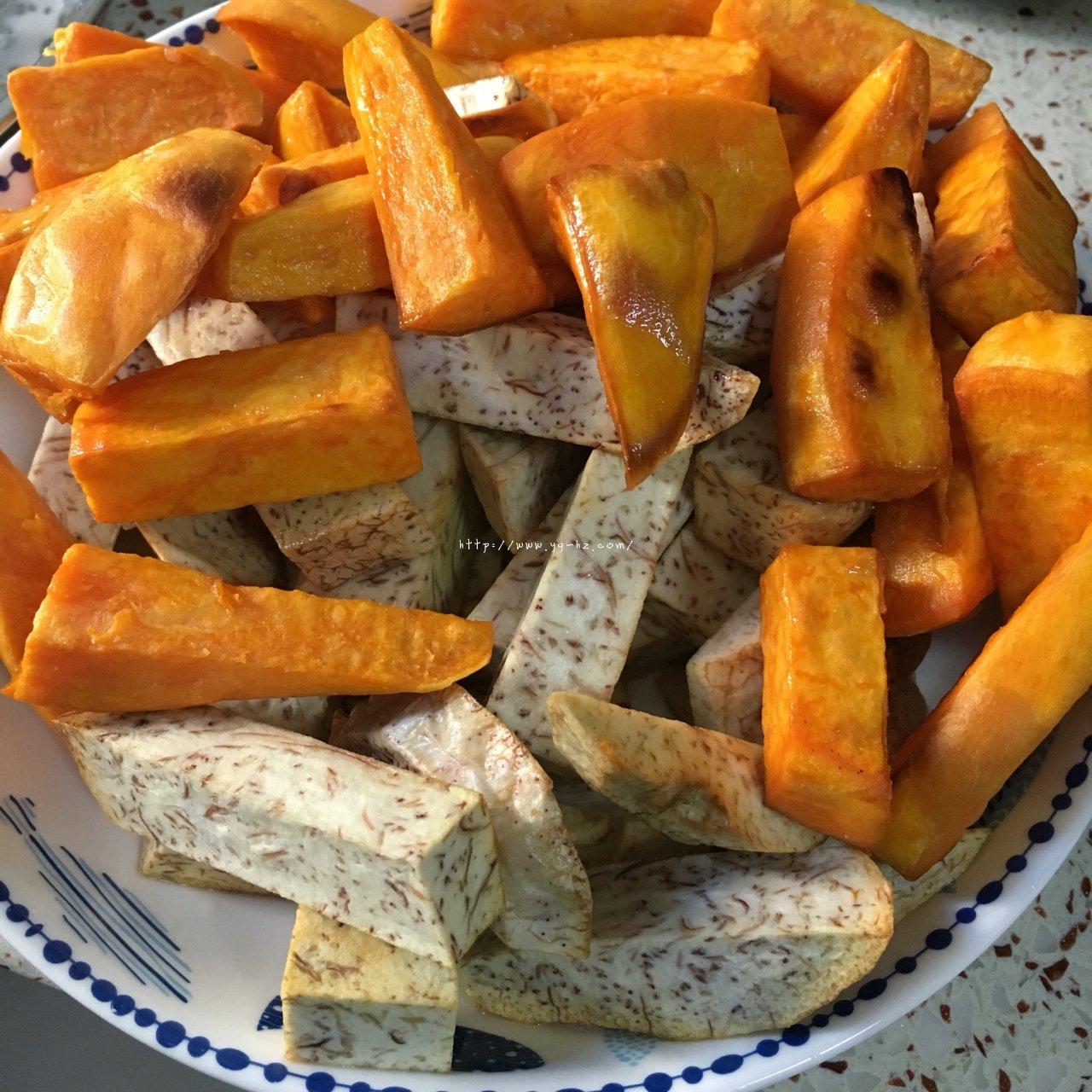 反砂芋头/番薯--橙香清新味的做法 步骤6
