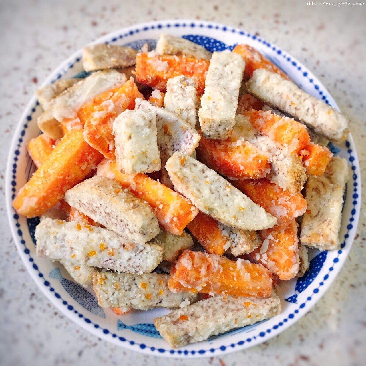 反砂芋头/番薯--橙香清新味的做法 步骤13