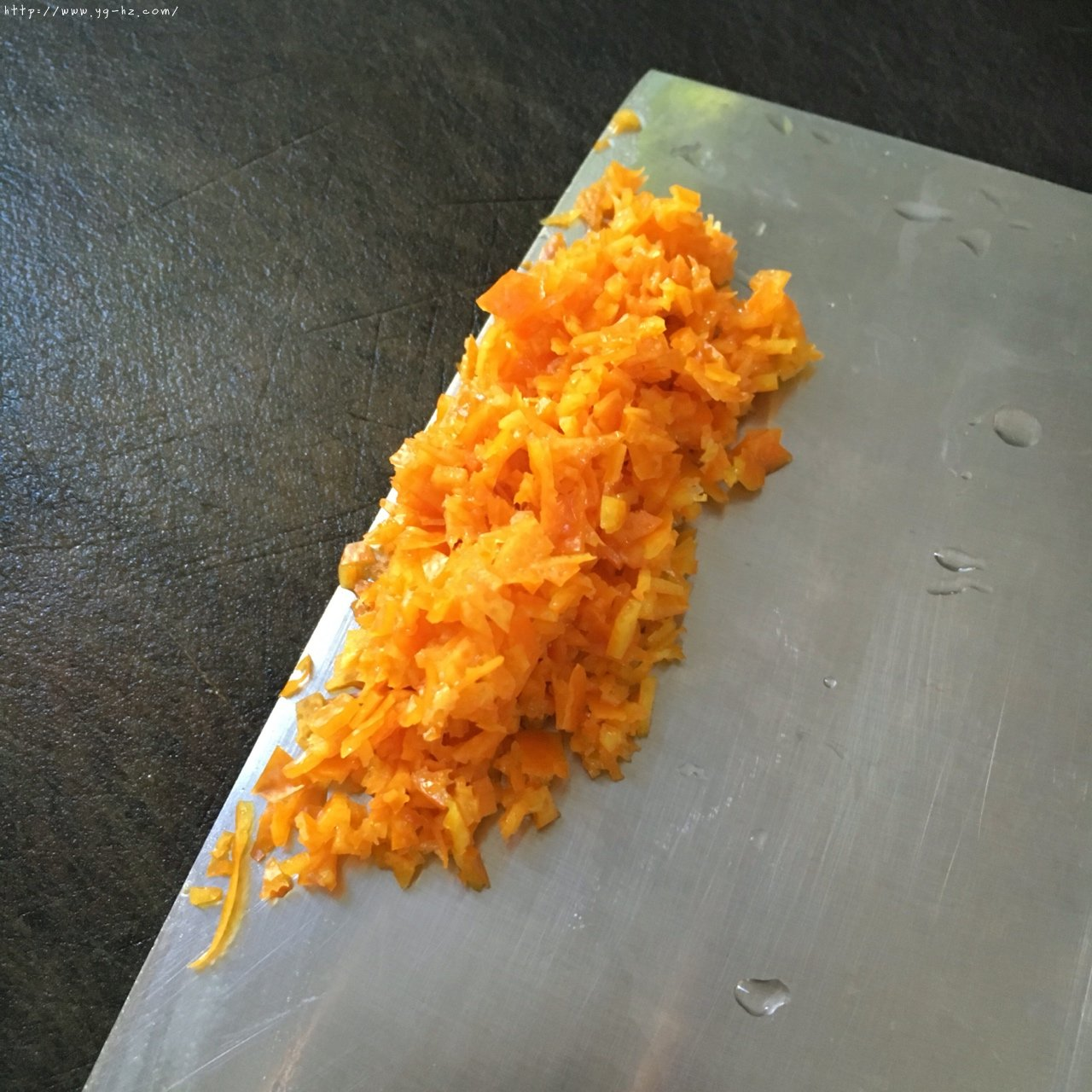 反砂芋头/番薯--橙香清新味的做法 步骤3