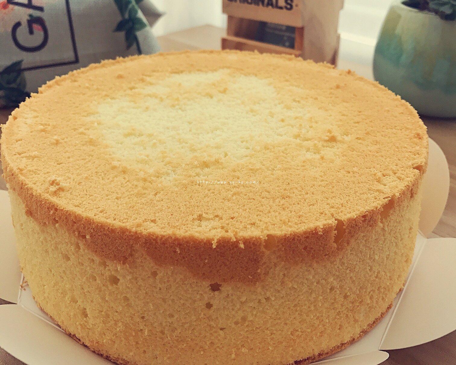 戚风蛋糕做一次成功一次的做法 步骤9