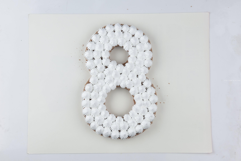 数字蛋糕8的做法 步骤11