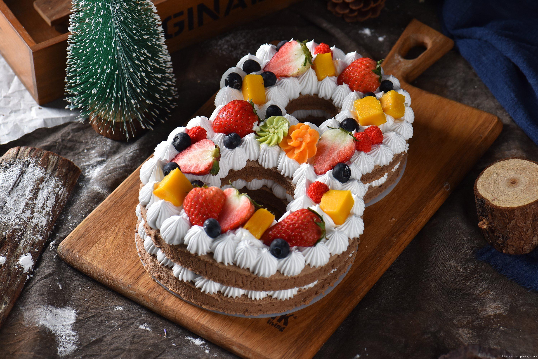 数字蛋糕8的做法